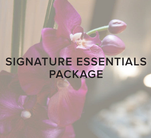 Signature Essentials Package