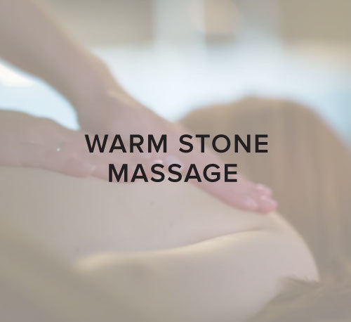 Warm Stone Massage