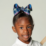 Plaid #41 Belair Boutique Bow for Girls
