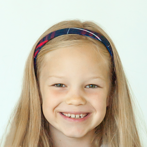 School Plaid #37 Uniform Headband
