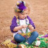 Big Mardi Gras Boutique Bow