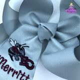 East Central Glitter Bow - Large