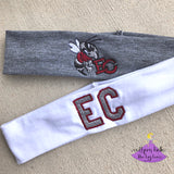 East Central School Spirit Sport Headband