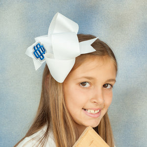White Ocean Springs Boutique Bow