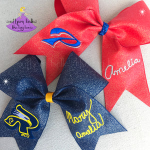 RCS and Pascagoula Signature Cheer Bows