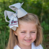 East Central Glitter Hair Bow