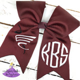 East Central High School Cheer Bow