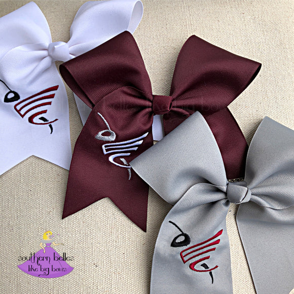 East Central High School Cheer Bows