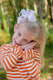 Fall Pumpkin Bow (Various Sizes)