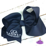 Navy Gateway Christian Academy Jumbo Bow