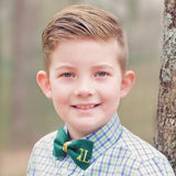 St. Patrick's Day Bow Tie with Monogram