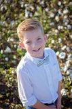 Plaid bow ties for boys