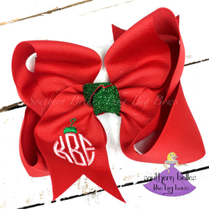 Christmas Ornament Bow