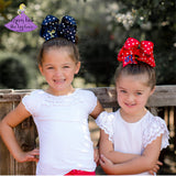 Big Pesonalized Hair Bows for Back to School