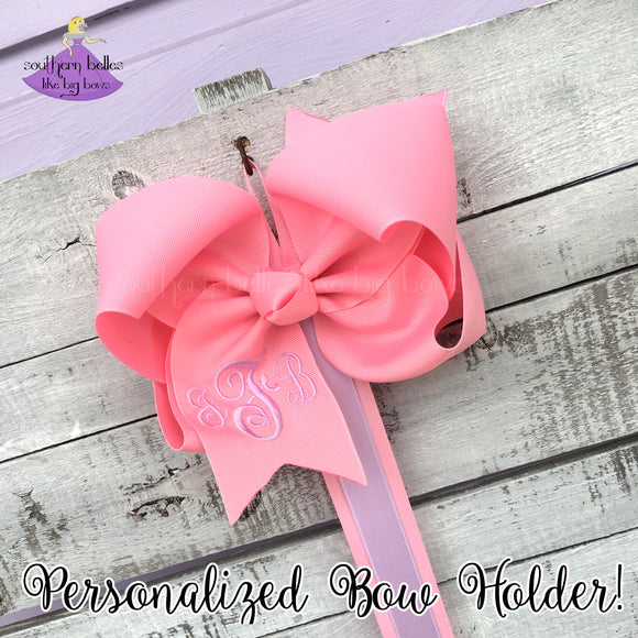 Bow Holder with Personalization
