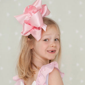 Pink Satin Bow