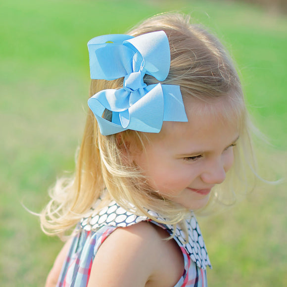 Blue Boutique Bow - Small to Medium