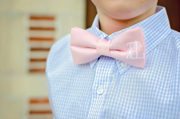 Bow Tie with Monogram