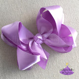 Big Satin Easter Bow, Big Easter Bow, Big Satin Hair Bow for Easter, Big Satin Bow, Easter Hair Bow, Easter Dress Hair Bow