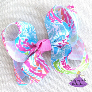 Beach Baby Hair Bows