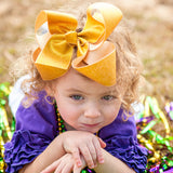 Big Gold Bow for Mardi Gras