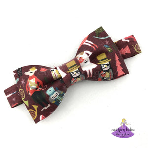 Nutcracker Christmas Bow Tie