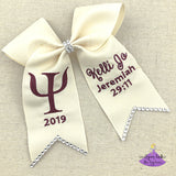 Psychology Grad Gap Bow (Multiple Colors)