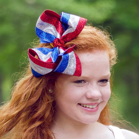 Fourth of July Kids Hair Bow