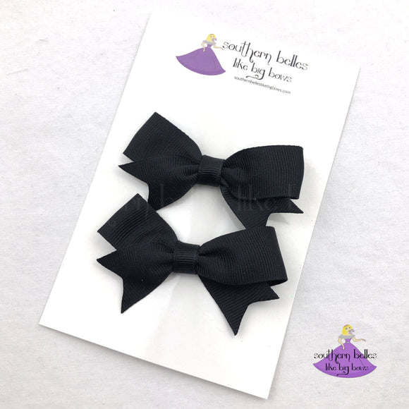 Personalized Pigtails Bow Set