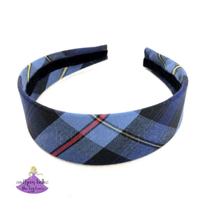 School Plaid Uniform Headband Plaid #41