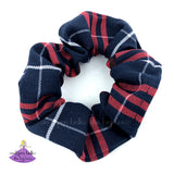Plaid 37 School Uniform Scrunchies