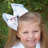 Personalized Back to School Bow with School Letters & Name