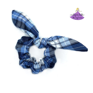 Plaid #76 Bow Scrunchie Uniform