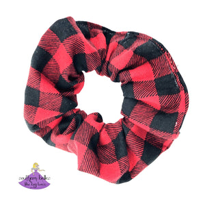Buffalo Plaid Scrunchies