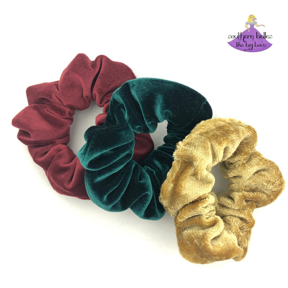 Velvet Scrunchies (Various Colors)