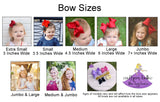 Bow Size options