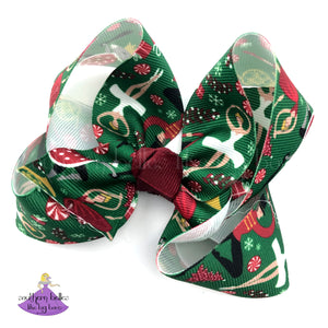 Christmas Nutcracker Ballet Bow for Girls