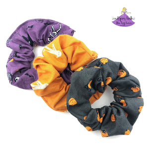 Halloween Hair Scrunchies for Girls and Women