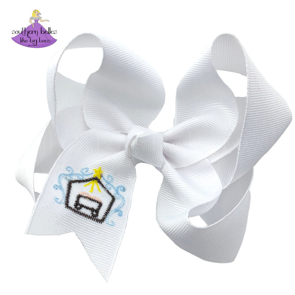 Nativity Bow for Girls