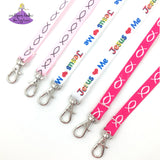 Christian Lanyards for Face Masks with Breakaway Clip