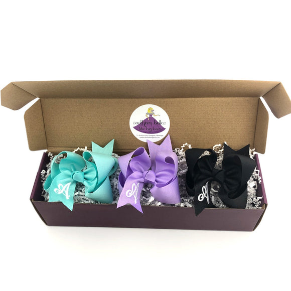 Boutique Bow Hair Bow Gift Box