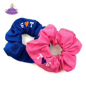 Personalized Scrunchies