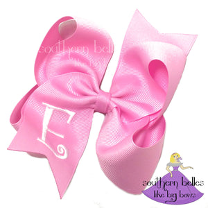 Big Monogram Bow