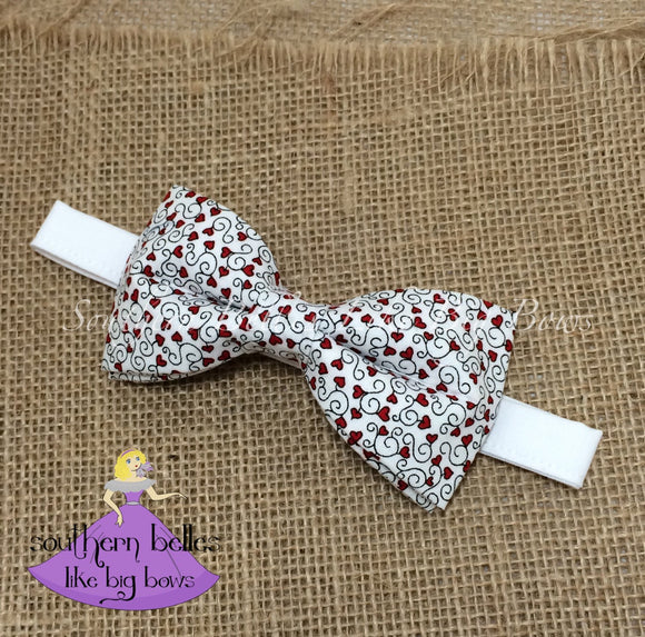 Valentines Bow Tie for Boy Bow Tie for Valentine's Day