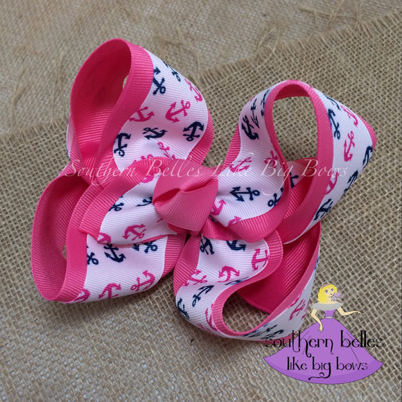 Anchor Boutique Bow - Large