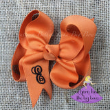 Thanksgiving Bow with Monogram