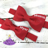 Personalized Bow Tie With Name