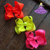 Neon Bow - Small to Medium