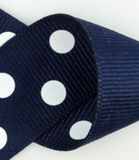 Navy & White Polka Dots