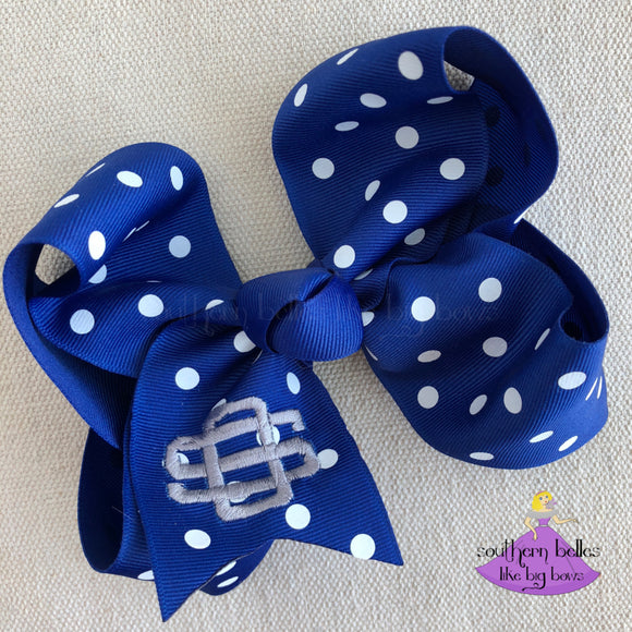 Ocean Springs Polka Dot Bow